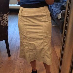 Esprit tan skirt